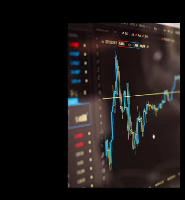 Grafica trading in stock market